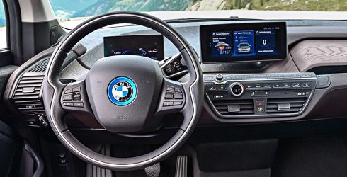 bmw i3s cockpit mit navigation