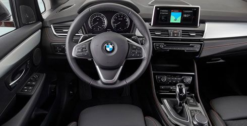 bmw 2er active und gran tourer interieur